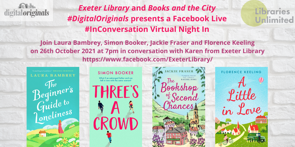 EXETER LIBRARY OCTOBER FACEBOOK LIVE