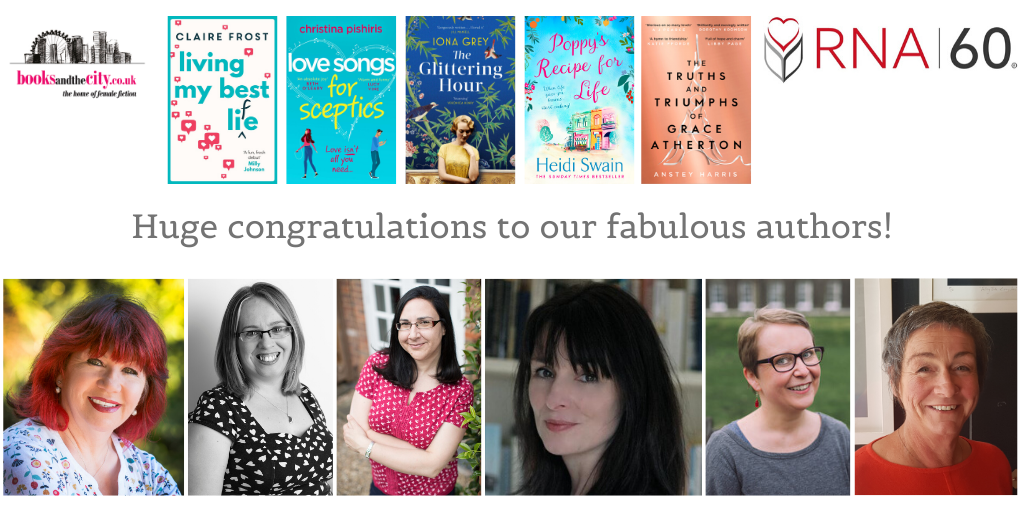 Huge congratulations to our fabulous shortlisted authors! (1)