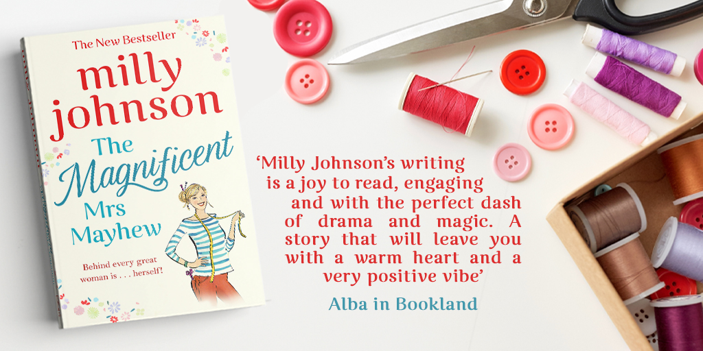 Milly review - Alba in Bookland