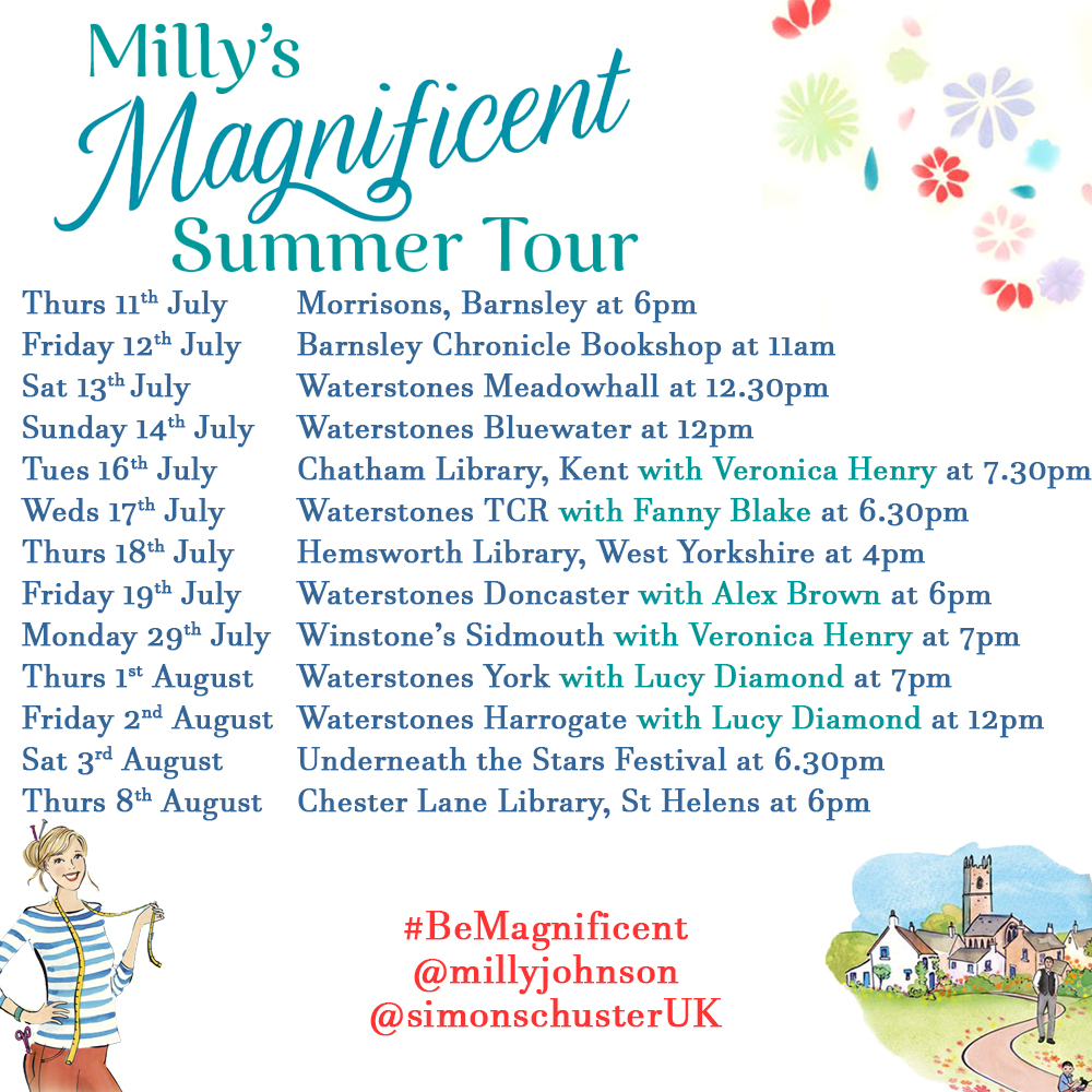 Milly's Magnificent Summer Tour