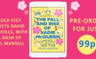 The Fall and Rise of Sadie McQueen - 99p pre-order Comparisons